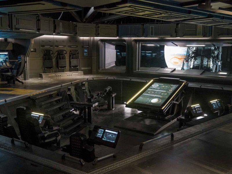 """NIGHTFLYERS -- """"Torches and Pitchforks"""" Episode 102 -- Pictured: (l-r) -- (Photo by: Steffan Hill/Syfy)"""