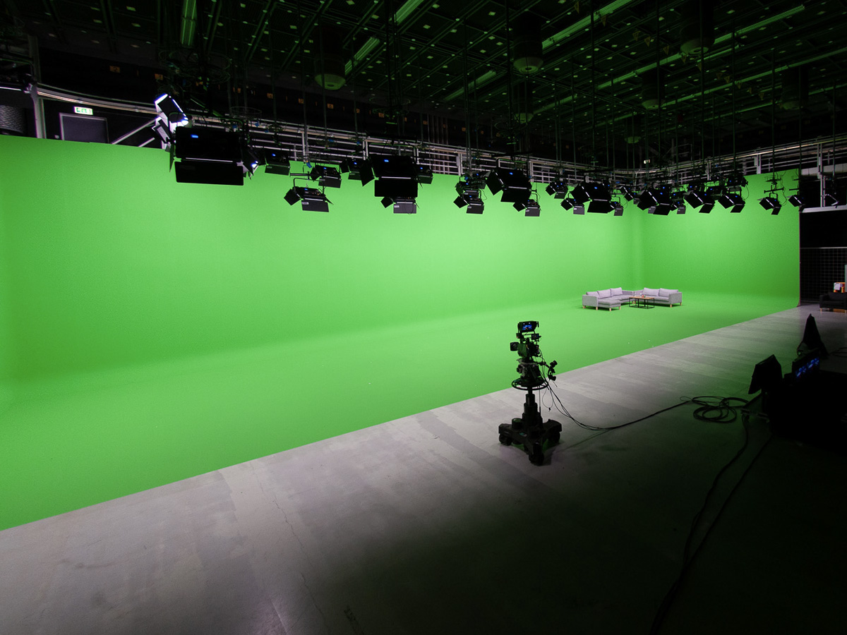 NEP Greenscreen Studio Augmented